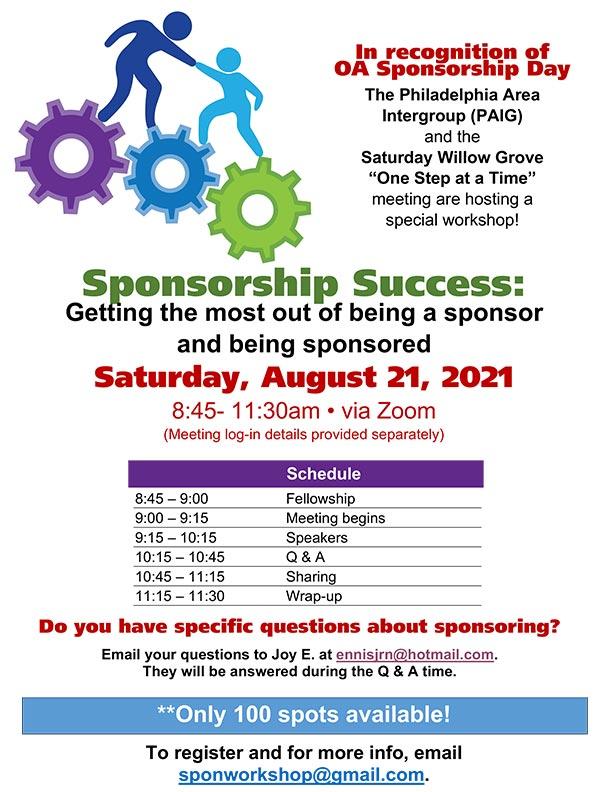 Sponsorship Workshop PAIG